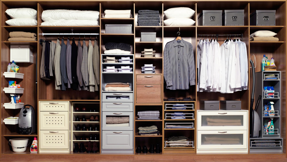 Фото гардеробных комнат.